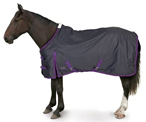 600d Lightweight Waterproof Standard Turnout Rug for Horse or Pony (6ft0in)