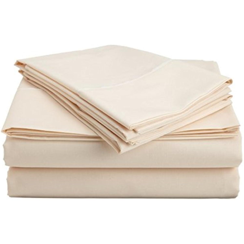 Laxlinens 600 fils Finition élégante 1PC en pli Jupe creux Jupe pli de lit (Drop Longueur: 38,1 cm) UK Petite taille unique longue, 100% coton Blanc 2773e6