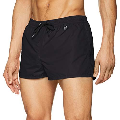 aca0a5db8442 HOM Sunlight Beach Shorts Pantalones Cortos, Negro (Noir 0004), Medium para  Hombre