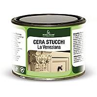 Cera natural especial estuco Veneciano - 375 ml - Marca Borma Wachs