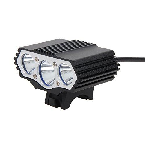 Starnearby, luce per bici, con 3LED CREE XML T6,4modalità, 12000 lm