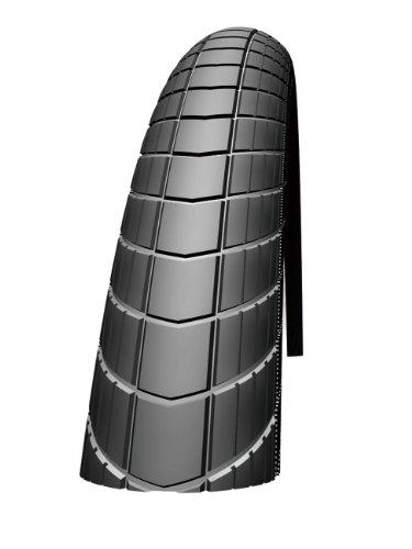 Schwalbe Unisex- Erwachsene Fahrradreifen Big Apple Raceguard 55-622 B/B-SK+RT HS430 EC 67EPI, schwarz, 28x2.15