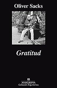 Gratitud par Oliver Sacks