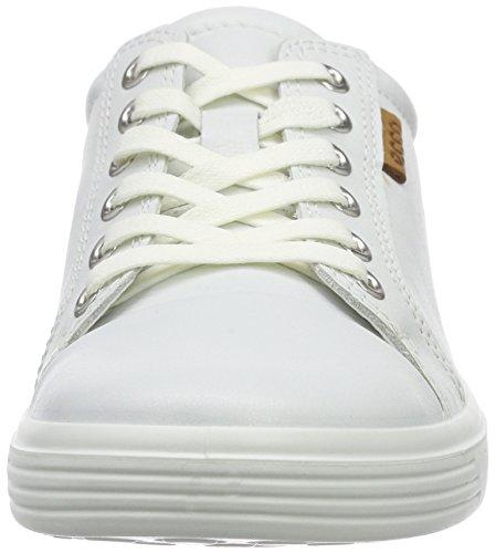 Ecco S7 Teen, Baskets Basses mixte enfant Blanc (1007White)