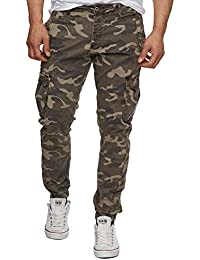Red Bridge Herren Hosen / Cargohose Army
