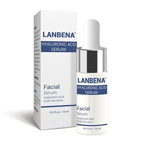 Hyaluronsäure Liquid Essence,Jaminy 15ML Face Lift Vitamin Serum Hyaluronsäure Flüssigkeit feuchtigkeitsspendende Anti-Aging, Anti-Falten, Straffen, Feuchtigkeitsspendende, Hydrat