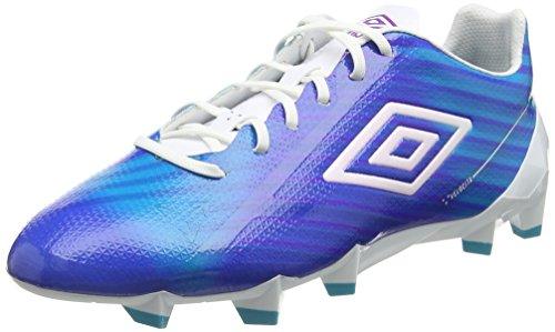 Umbro Herren Velocita 2 Pro Hg Fußballschuhe Blau (Ech-Bluebird/White/Purple Cactus)