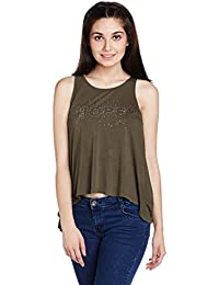 ONLY Women's Solid T-Shirt