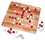 Tic Tac Ku Game by Mad Cave Games (Red/White)