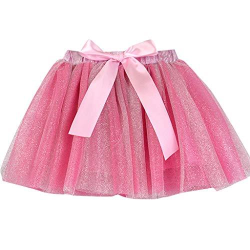 4be9add760c7e Innerternet Enfants Fille Tulle Irrégulier Pettiskirt Princesse Tutu Jupe À  Niveaux De Danse Rétro 50s Style