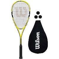 Wilson Ripper Team Squash Racket + 3 Balls RRP £79.99
