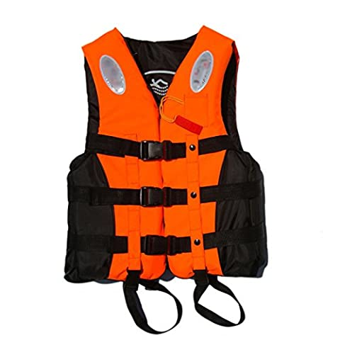 ANAM Leader Internation Life Vest with Whistle, Buoyancy Aid for Adult, Buoyancy Vest, Kayaking Foam Life Jacket