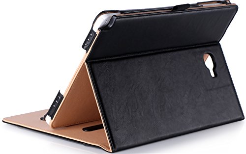 ProCase Samsung Galaxy Tab A 10.1 mit S Pen Hülle - Stand Folio Hülle Abdeckung für Galaxy Tab A 10.1 Zoll Tablet mit S Pen SM-P580, mit Mehreren Blickwinkel, Dokumentenkarte - S Stylus Für Tab Samsung Galaxy