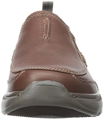 Clarks Mens Charton Step Slip-On Loafer Brown