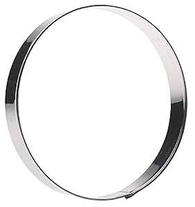 Ausstechform für Plätzchen - Edelstahl - rund - Ø 8cm