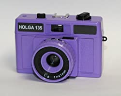 HOLGA CLASSIC 35MM CAMERA IN VIOLET