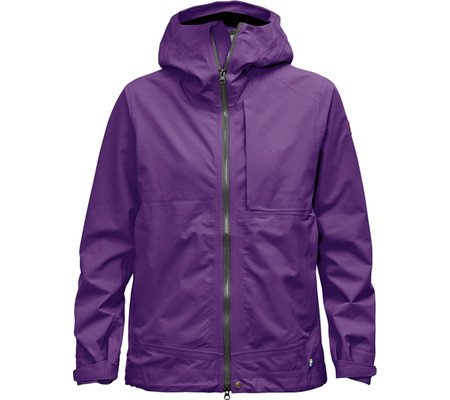 Fjällräven Damen Abisko Eco-Shell Jacket W Softshelljacken Purple