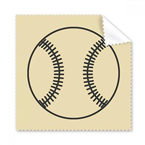 Baseball Sport Line Zeichnen Muster Brille Reinigungstuch Reinigungstuch Handy-Display von 5x Geschenk