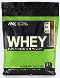 Optimum Nutrition ON Whey Eiweißpulver (Zuckerarmes Protein Shake von ON), Chocolate, 33 Portionen, 0.9kg