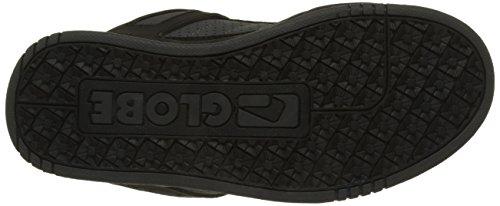 Globe Tilt-Kids, Chaussures de Skateboard Garçon Noir (Black/Camo/Moto Green)