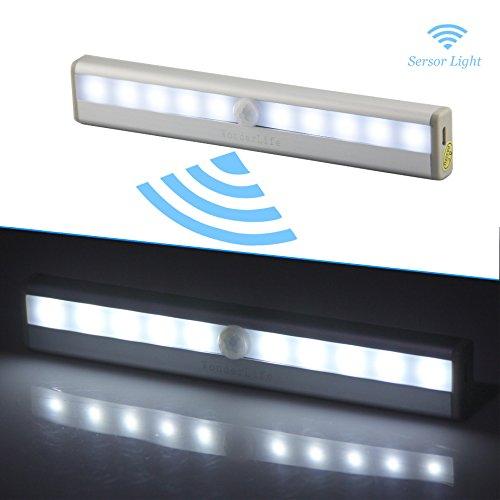 Luce del sensore di movimento, USB ricaricabile luce principale di