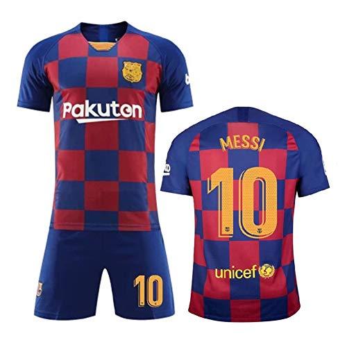 on sale 30b05 08e32 Lionel Messi 10 Lionel Andrés Messi Fútbol Club Barcelona 2019-2020 barça  Nouveaux Costumes de Football Maillots de Football à Domicile et à ...