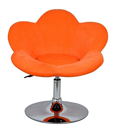 "Barhocker ""orange Blume"" in Blumenform Lounge Sessel Barsessel Clubsessel Cocktailsessel Drehsessel - 3"