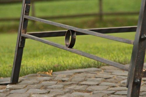 CLP 2 Sitzer / 3 Sitzer Garten Hollywoodschaukel AIMEE, Landhaus-Stil, Metall (Eisen) bronze - 6