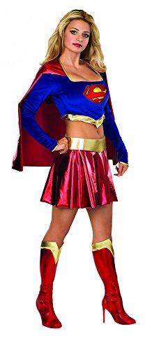 Supergirl Kostüm für Damen, (Kostüm Supergirl Film)