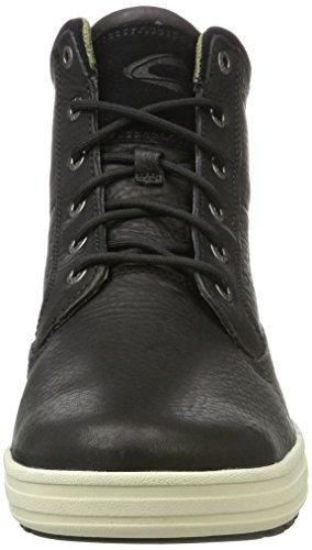 camel active Herren Laponia 11 Hohe Sneaker Schwarz (Black)