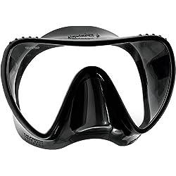Mares Essence Liquidskin Masque de plongée Unisexe pour Adulte Noir/Gris Taille Unique