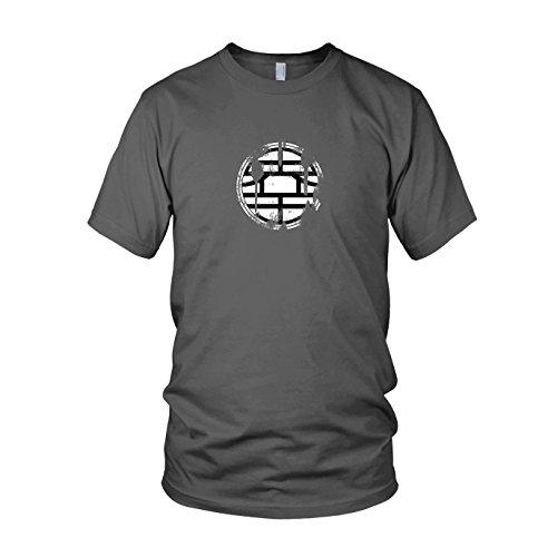 DBZ: Vintage Logo - Herren T-Shirt Grau