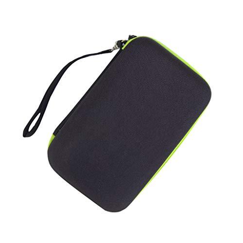 Für Philips OneBlade Rasierer Tasche, Colorful Eva Hart Reisetasche Schutzhülle Case Etui für Philips OneBlade QP2520, QP2530, QP2531 Rasierer & Netzteil (Philips Wasserdichter Rasierer)