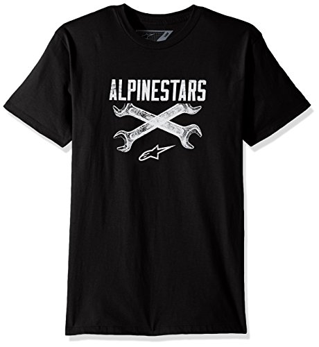 Tee Ratchet (Alpinestars Herren Ratchet Tee T-Shirt, Schwarz, XL)