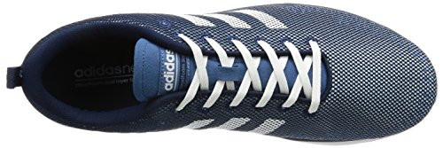 adidas Cloudfoam Super Flex, Scarpe da Ginnastica Uomo Blu (Maruni/Ftwbla/Azubas)