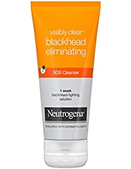 Neutrogena Visibly Clear Blackhead Eliminating SOS Cleanser 100 ml