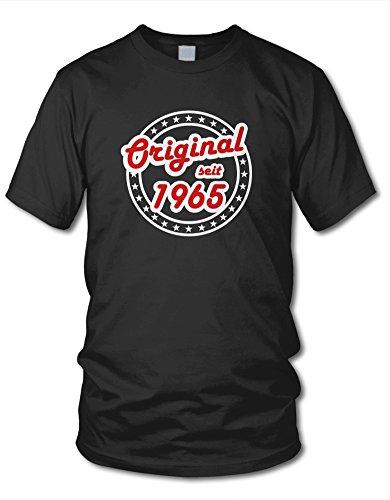 shirtloge - ORIGINAL SEIT 1965 - KULT - Fun T-Shirt - in verschiedenen Farben & Größe Schwarz