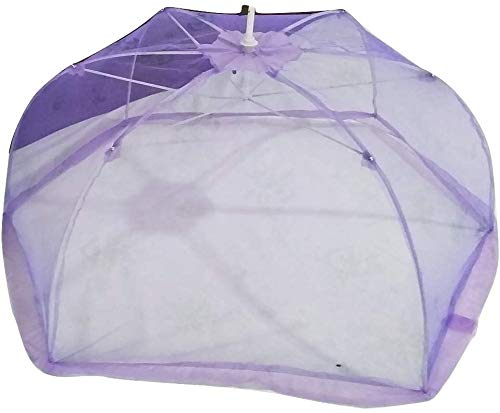 Mosquito Net for Newborn Baby Multicolor and Prints (Pack of 1) by ome empex