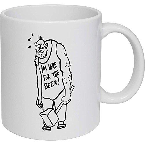 Azeeda 320ml 'Troll mit Hammer' Kaffeetasse / Becher (MG00002670)
