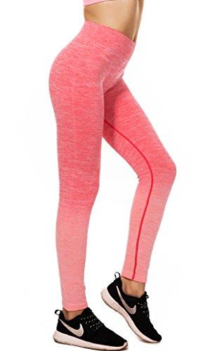 RUNNING GIRL - Medias deportivas - para mujer rojo Rosa Roja Large X-Large 27a0126f19c