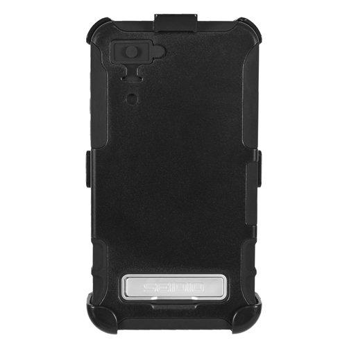 Seidio Blackberry (SeidioBD4-HKR4BBZ10ConvertSchutzhüllemitMetall-Ständer/Holster CombofürBlackBerryZ10 schwarz)