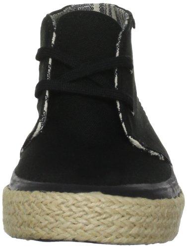 Vans Chukka Slim W, Baskets mode mixte adulte Noir - noir