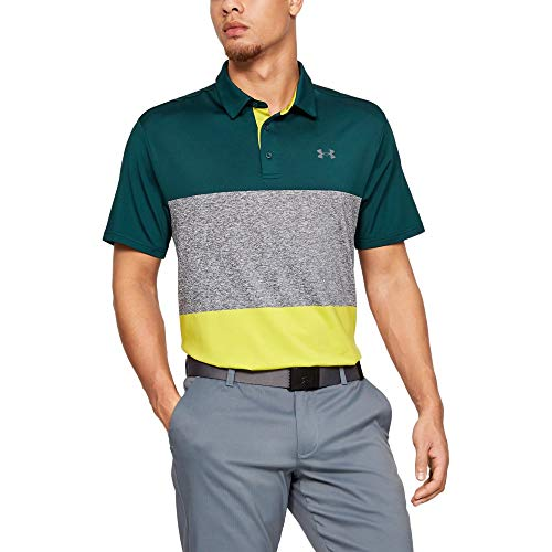 Under Armour Herren Playoff-2.0 Poloshirt, Batik (369), 2XL 95% Polyester 5% Elasthan