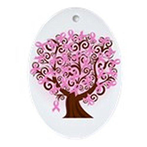 es Lebens... Schmuck Brustkrebs (Oval)-oval Urlaub Weihnachten Ornament ()