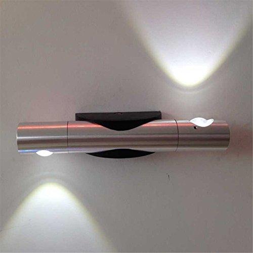 Wand-Wandleuchte-360 Grad-Umdrehung 6W führte Wand-Leuchten, die Wand-Lampe / Spiegel-Beleuchtung / Treppen-helle hohe Helligkeit, Rosa lesen