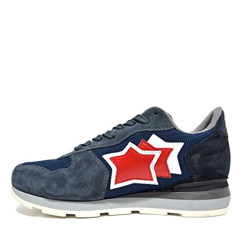 ATLANTIC STARS Antares ANBA-63N Sneakers Uomo DRAGON BLUE 431 Hand-Made in Italy Colore