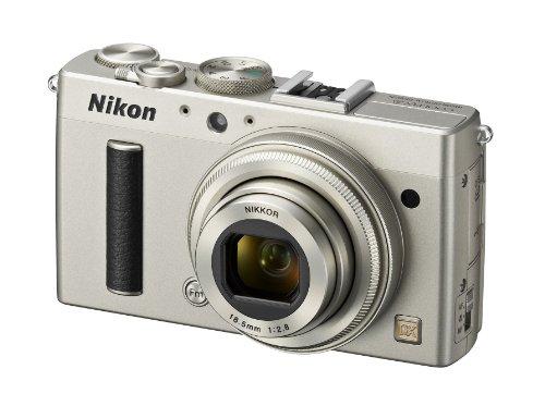 Nikon Coolpix A Digitalkamera (16 Megapixel, 7,6 cm (3 Zoll) LCD-Display, 28mm Weitwinkelobjektiv, Lichtstärke 1:2,8, Full HD Video) titan silber - 2