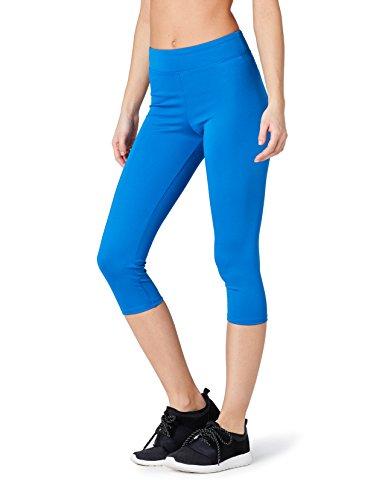 Casual Outfit Komplett (FIND Sport Leggings Damen, Gr. 36 (Herstellergröße: XS), Blau (Imperial Blue))