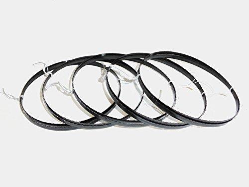 5 x Sägebänder Sägeband 1425 x 6 x 0,65 mm 14 ZpZ Metall Rohre Interkrenn Güde -