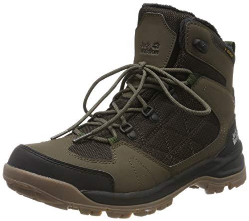 Jack Wolfskin Herren Cold Terrain Texapore MID M Wasserdicht Trekking- & Wanderstiefel, Braun (Coconut Brown/Black 5209), 45.5 EU